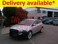 2017 Ford Focus Titanium X TDCi Aut 1.5 DAMAGED REPAIRABLE SALVAGE