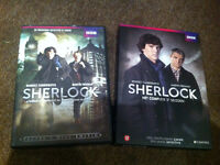 Sherlock series 1-2 very good condition