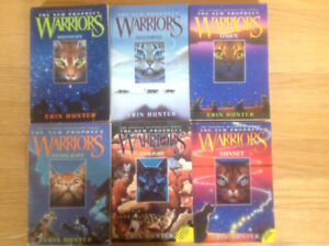 Warriors The New Prophecy 6 book set