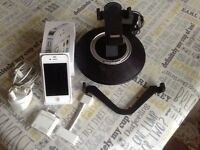 iPhone 4s and docking station