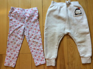 2 pairs of pants with light soil stains - 24 months Gatineau Ottawa / Gatineau Area image 1