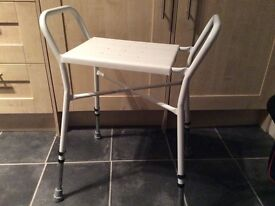 Shower stool, disability aid
