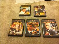 007 DVD's