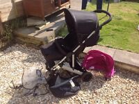 Mamas and Papas Luna prom/pushchair/buggy with accessories