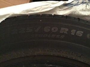 Moving Snow Tires Michelin X  Ice Studless Snow Tires 225/60 R16