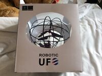 Flying gadget robotic UFO/ball BNIB