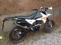 Pulse adrenaline 125cc supermoto good running bike