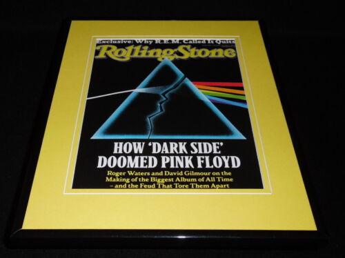 Pink Floyd Framed 11x14 ORIGINAL 2011 Rolling Stone Cover