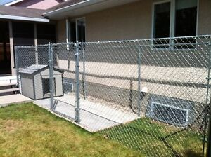 6' Chain link fence