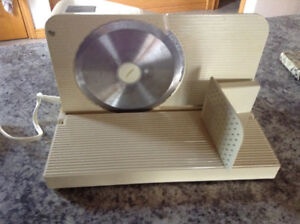 Meat slicer like new meat slicer