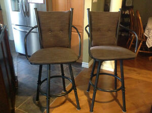 2 Bar stools Stratford Kitchener Area image 1