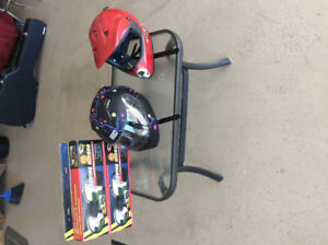 For sale Two helmets,two towing mirrors
