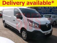 2014 Renault Trafic LL29 LWB Business DCI 1.6 DAMAGED REPAIRABLE SALVAGE
