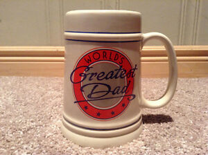World's Greatest Dad beer mug (ceramic)--NEW PRICE!! Kitchener / Waterloo Kitchener Area image 1
