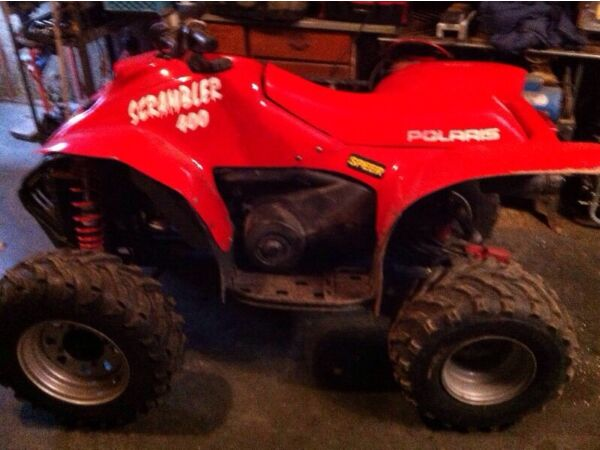 Used 2000 Polaris scrambler 2x4
