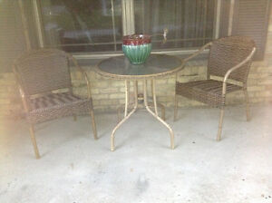 Outdoor bistro set for sale