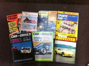 COLLECTIBLE CLASSIC CAR MAGAZINES