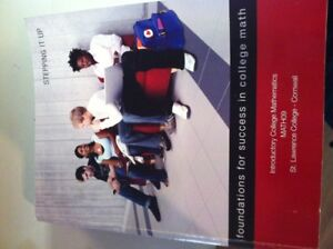 SLC Textbook: Foundations for success in College Math