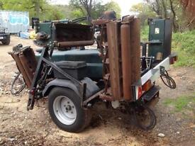 Hayter 7 gang pto driven mower tractor mower