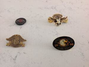 Motorcycle Pins for a hat or jacket