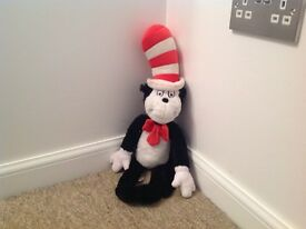 Medium Cuddly Cat in the Hat