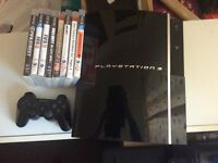 PS3 for sale in good working order with games