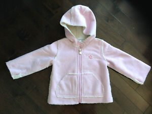 BABY GAP INFANT GIRL'S FALL/WINTER JACKET - SIZE 6-12 MONTHS