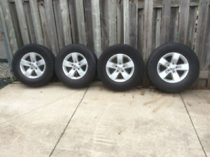 Rims and tires off of ram 1500