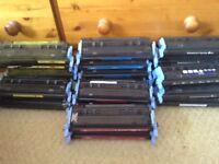 HP Laser Printer Ink/Toner Cartridges - Total 21 Cartridges