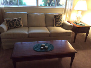 Couch,tables,lamps
