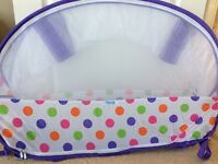 Koo-di Pop up bubble travel cot