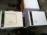 Stackable washer dryer combo set works great asking 150obo