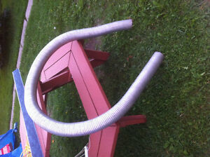 Aluminum 10 foot 3.5 inch flexible exhaust tube great for diesel