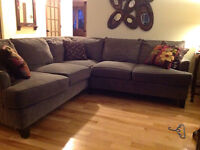 Green Sectional excellent condition