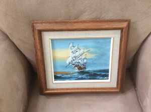Oil painting  excellent condition