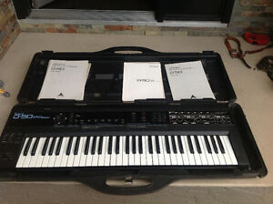 Roland D-50 and Roland S-50