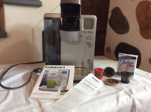 cafetiere infusion cuisinart ( accepte les cups kurig)