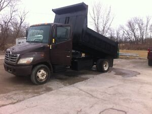 2006 hino dump truck with 80500KM in Excellent Condition