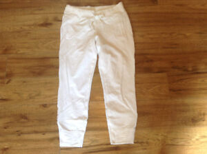 LULULEMON FRENCH TERRY CROPS-SZ 8  **NEW CONDITION**