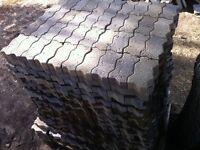 Pave brique et Bloc de Muret décoratif