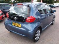 2008 08 TOYOTA AYGO 1.0 BLUE VVT-I 5D 68 BHP