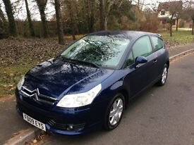 2009 Citroen C4 1.4 VTR Coupe--60,000-2 owners-Service history-12 months mot-exceptional value