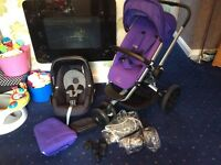 Quinny buzz xtra and maxi cosi pebble