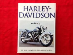 Harley Davidson book by Roy Bacon,Dennis Chorlton......