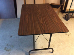 """Three 30""""x45"""" foldable tables $35.00 each, $95.00 for all."""