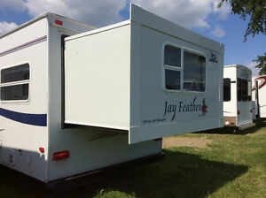 Camping Trailer Roulotte Jayco Feather 2008 29A