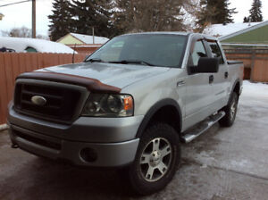 2006 Ford F-150 SuperCrew 4x4 Pickup Truck