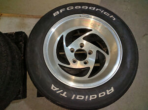 4 x 225/60R15 Camaro Tires and Rims