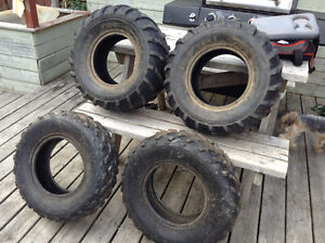 ATV steal rims and tires