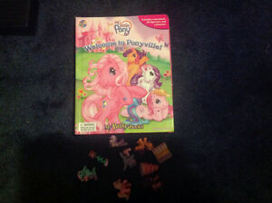 My little pony toy games figurines book